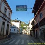 Rua principal de Sta. Leopoldina.