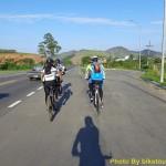 Asfalto saindo de Viana sede